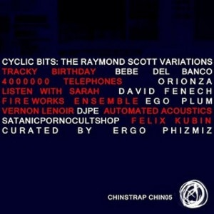 Cyclic Bits is the first remix album of the music of remarkable composer and inventor Raymond Scott. Inlcuding remixes by Felix Kubin, The The, Satanicpornocultshop, Vernon Lenoir, and many more