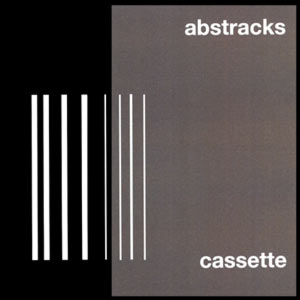 abstracks is a compilation tape edited by rainier lericolais for his exhibition at le confort moderne, poitiers, france. limited edition of 100. uses one track of the david fenech + jac berrocal + ghédalia tazartès trio.