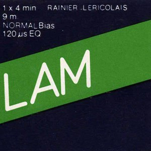 french composer rainier lericolais asked several musicians to remix his music. includes contributions by simon fisher turner, geoffroy montel, pierre yves macé, david sanson, etc.